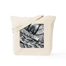 Eagles Feet on a American Quarter Tote Bag