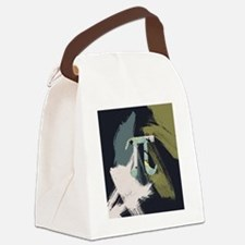 Retro Pi Painting Canvas Lunch Bag
