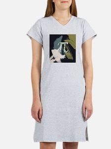 Retro Pi Painting Women's Nightshirt