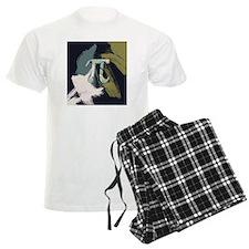 Retro Pi Painting Pajamas