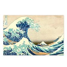 Hokusai Great Wave off Kanagawa Postcards (Package