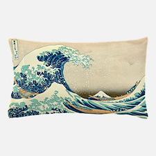 Hokusai Great Wave off Kanagawa Pillow Case
