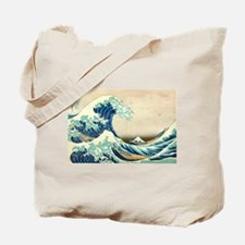 Hokusai Great Wave off Kanagawa Tote Bag