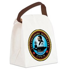 USS THEODORE ROOSEVELT Canvas Lunch Bag