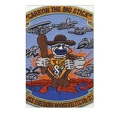 USS THEODORE ROOSEVELT Postcards (Package of 8)