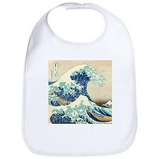 Hokusai Great Wave off Kanagawa Bib