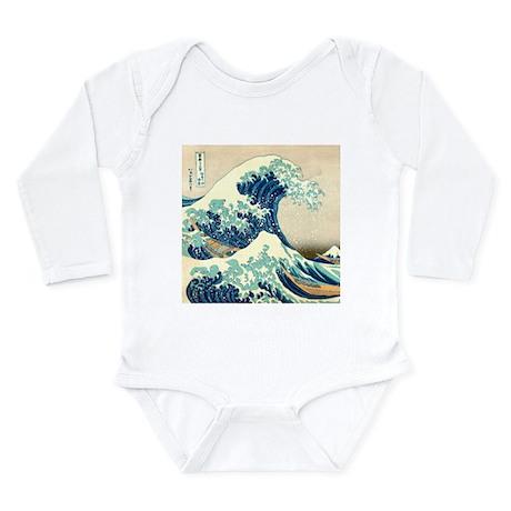 Hokusai Great Wave off Kanagawa Body Suit