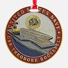 USS THEODORE ROOSEVELT Ornament