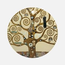 Gustav Klimt Tree of Life Ornament (Round)