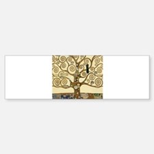 Gustav Klimt Tree of Life Bumper Bumper Bumper Sticker