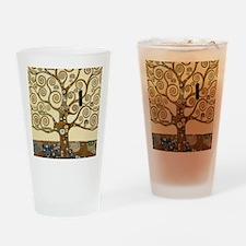 Gustav Klimt Tree of Life Drinking Glass