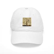 Gustav Klimt Tree of Life Baseball Baseball Cap