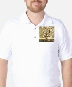 Gustav Klimt Tree of Life T-Shirt
