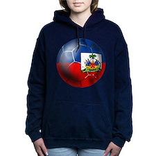 Haiti Soccer Ball Hooded Sweatshirt