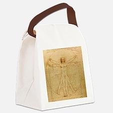 Vitruvian man by Leonardo da Vinci Canvas Lunch Ba