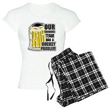 Hockey Drinking Team Pajamas