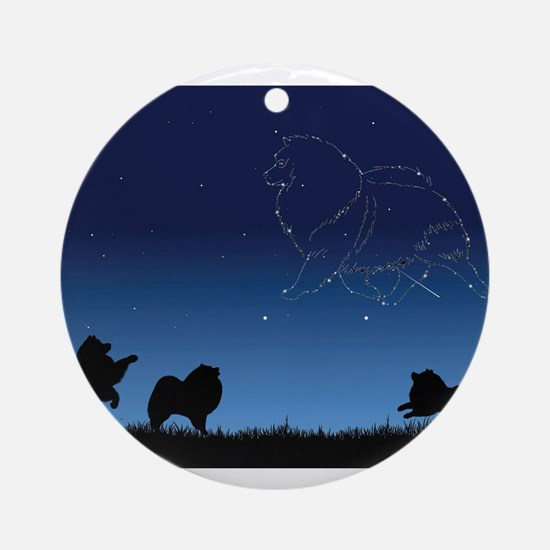 Stars in the Sky Ornament (Round)