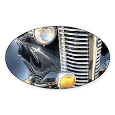 Black Shiny Classic Car Decal