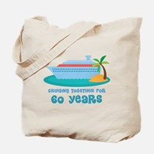 60th Anniversary Cruise Tote Bag