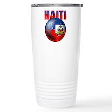 Haitian Football Travel Mug