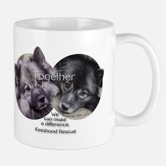Together We Can Make a Difference Mugs