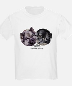 Together We Can Make a Difference T-Shirt