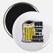 Hockey Drinking Team Magnet