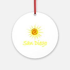 San Diego, California Ornament (Round)