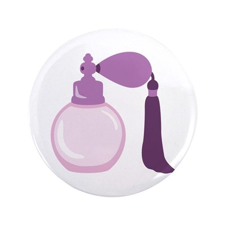 """Perfume Bottle 3.5"""" Button (100 pack)"""