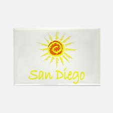 San Diego, California Rectangle Magnet