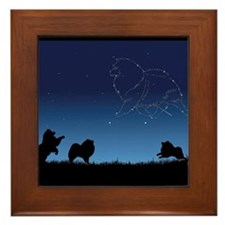 Stars In The Sky Framed Tile