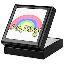 San Diego, California Keepsake Box