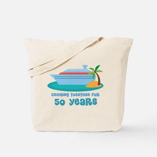 50th Anniversary Cruise Tote Bag
