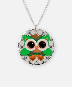 Cute Colorful Owls Necklace