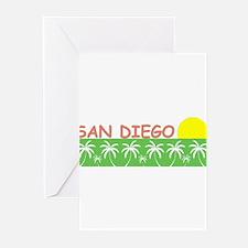 San Diego, California Greeting Cards (Pk of 10