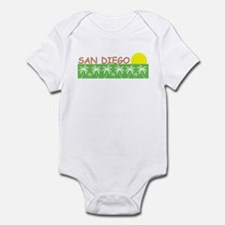 San Diego, California Infant Bodysuit