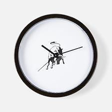 Raging Bull Wall Clock