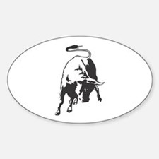 Raging Bull Oval Decal