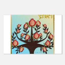 12 Tribes Israel Reuben Postcards (Package of 8)