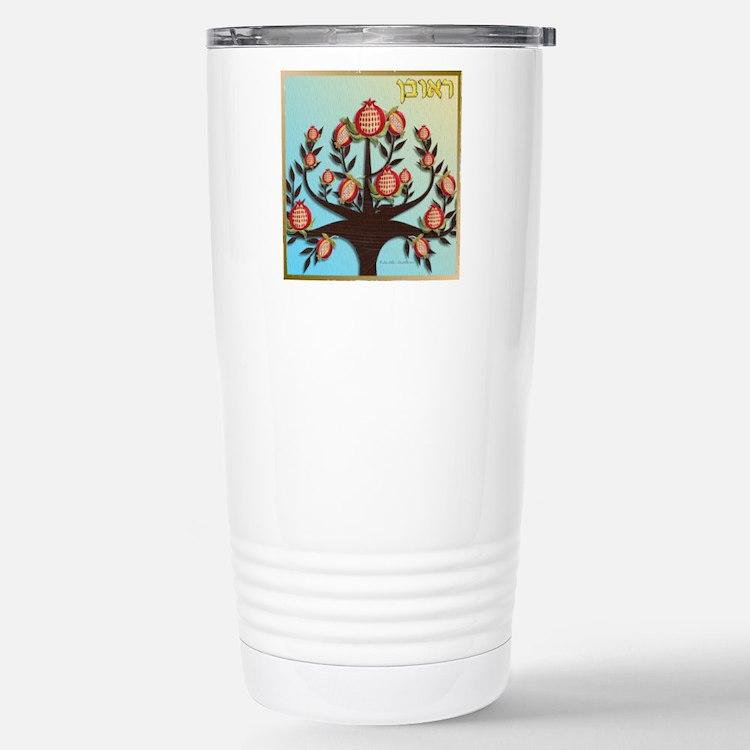 12 Tribes Israel Reuben Travel Mug