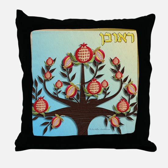 12 Tribes Israel Reuben Throw Pillow