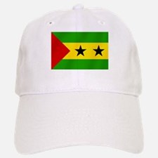 Flag of Sao Tome Baseball Baseball Cap