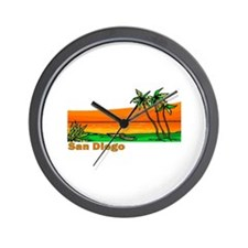 San Diego, California Wall Clock