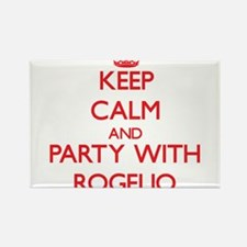 Keep Calm and Party with Rogelio Magnets