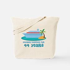 44th Anniversary Cruise Tote Bag