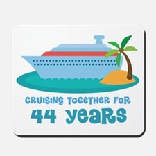 44th Anniversary Cruise Mousepad