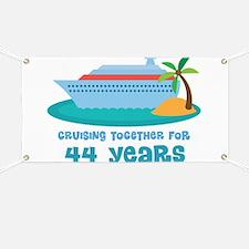 44th Anniversary Cruise Banner