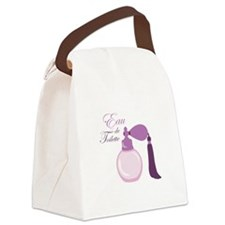 Eau De Toilette Canvas Lunch Bag