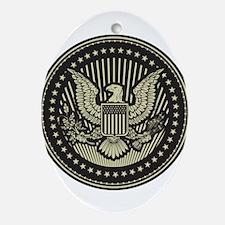 America Ornament (Oval)