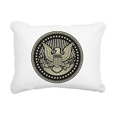 America Rectangular Canvas Pillow